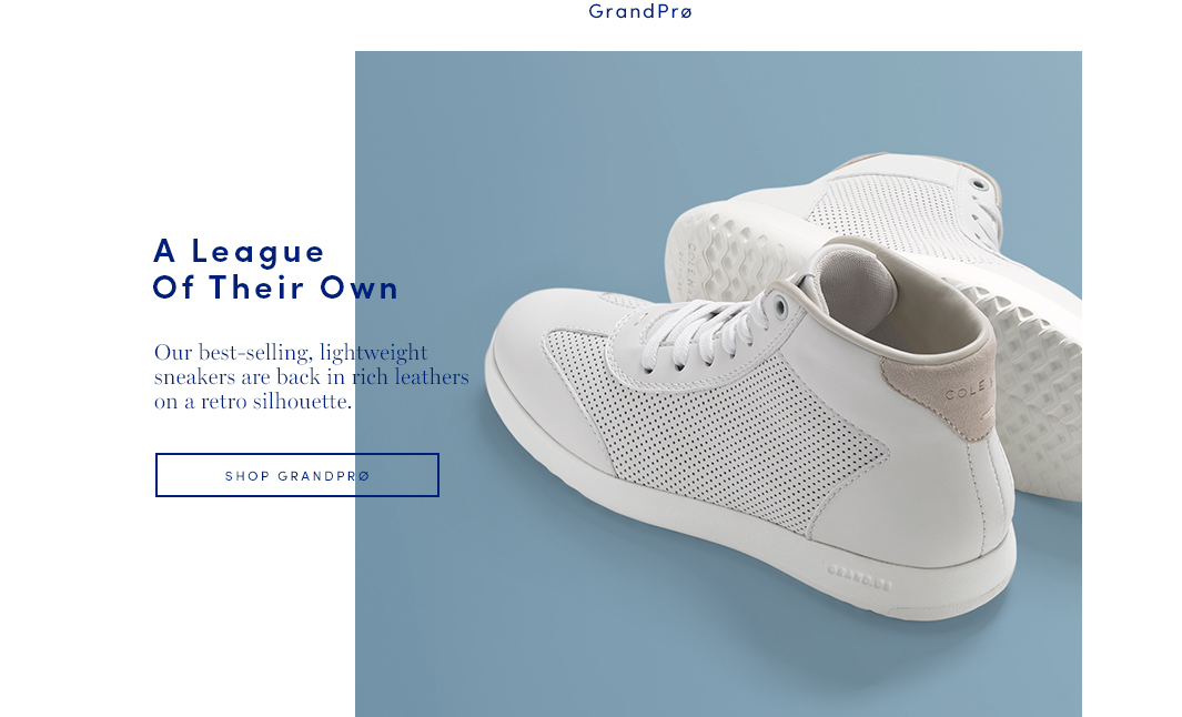 A League Of Their Own. Our best-selling lightweight all-stars are back in rich leathers on a retro silhouette. Shop GrandPro