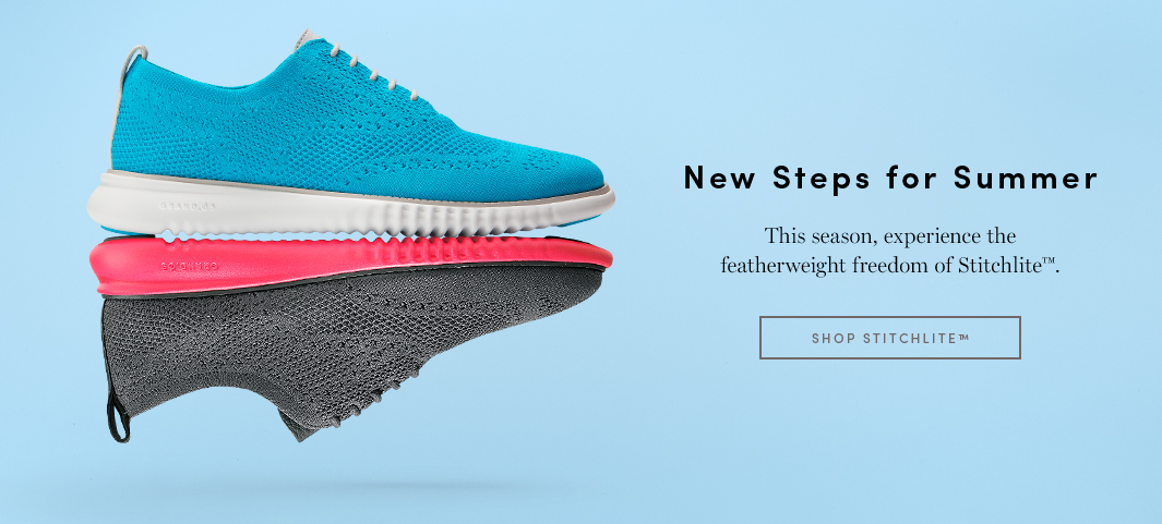 New Steps for Summer: This season, experience the featherweight freedom of Stitchlite.