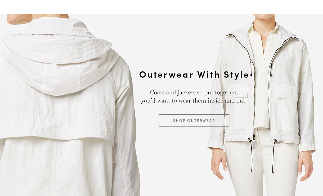 Outerwear With Style - Coats and Jackets So put together, you'll want to wear them inside and out
