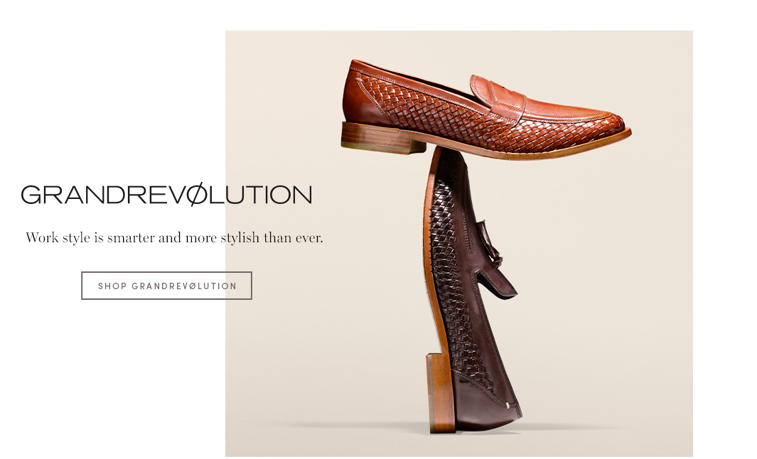 GRANDREVØLUTION - Work style is smarter and more stylish than ever.