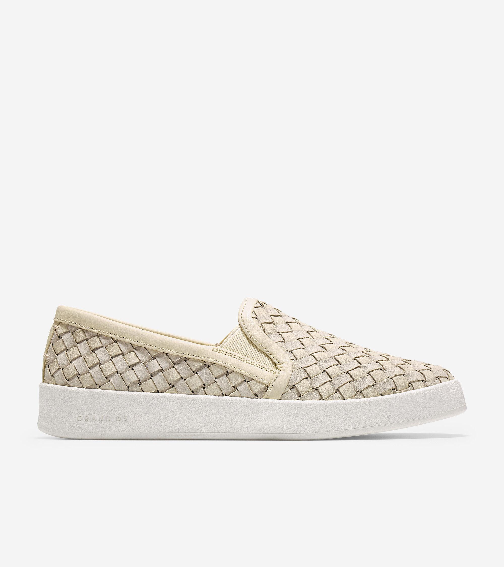 Slip-On Sneaker in Brazilian Sand