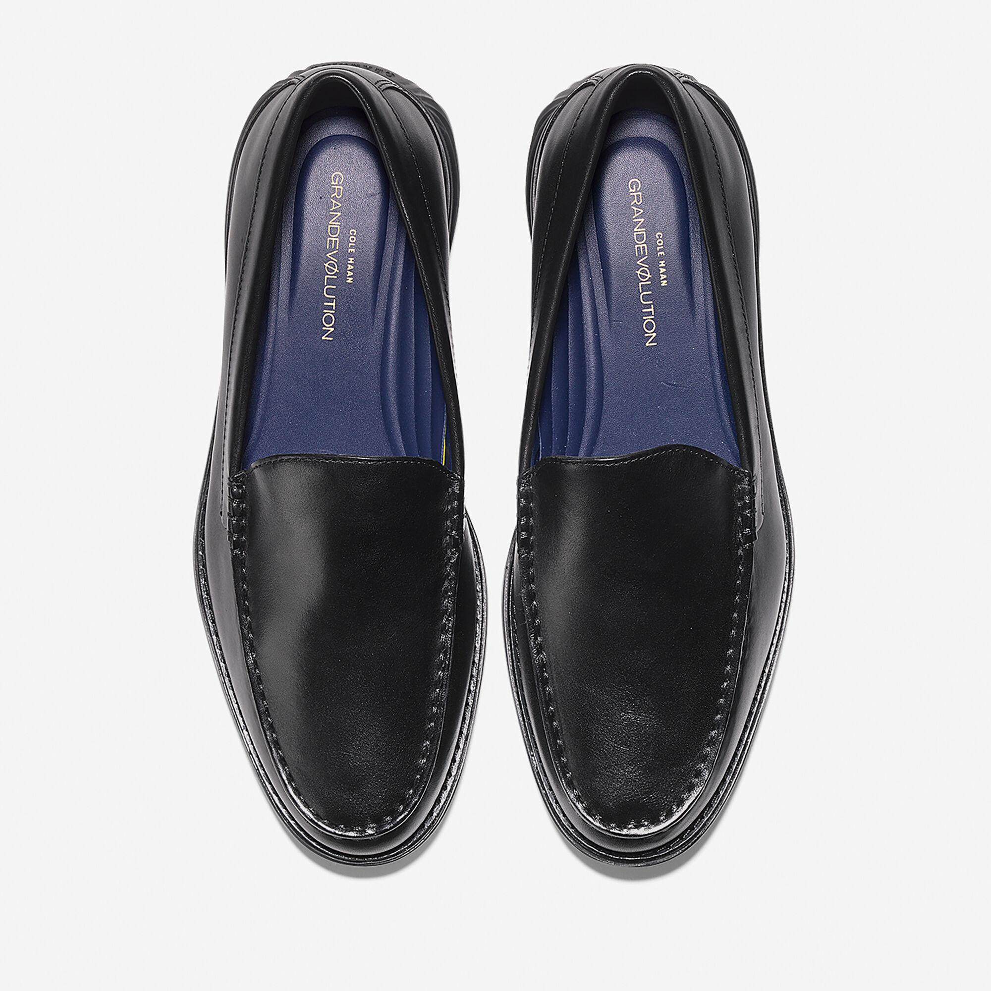 a5e4bfa1f17 Cole Haan Men s GrandEvølution Venetian Loafer in Black-black ...