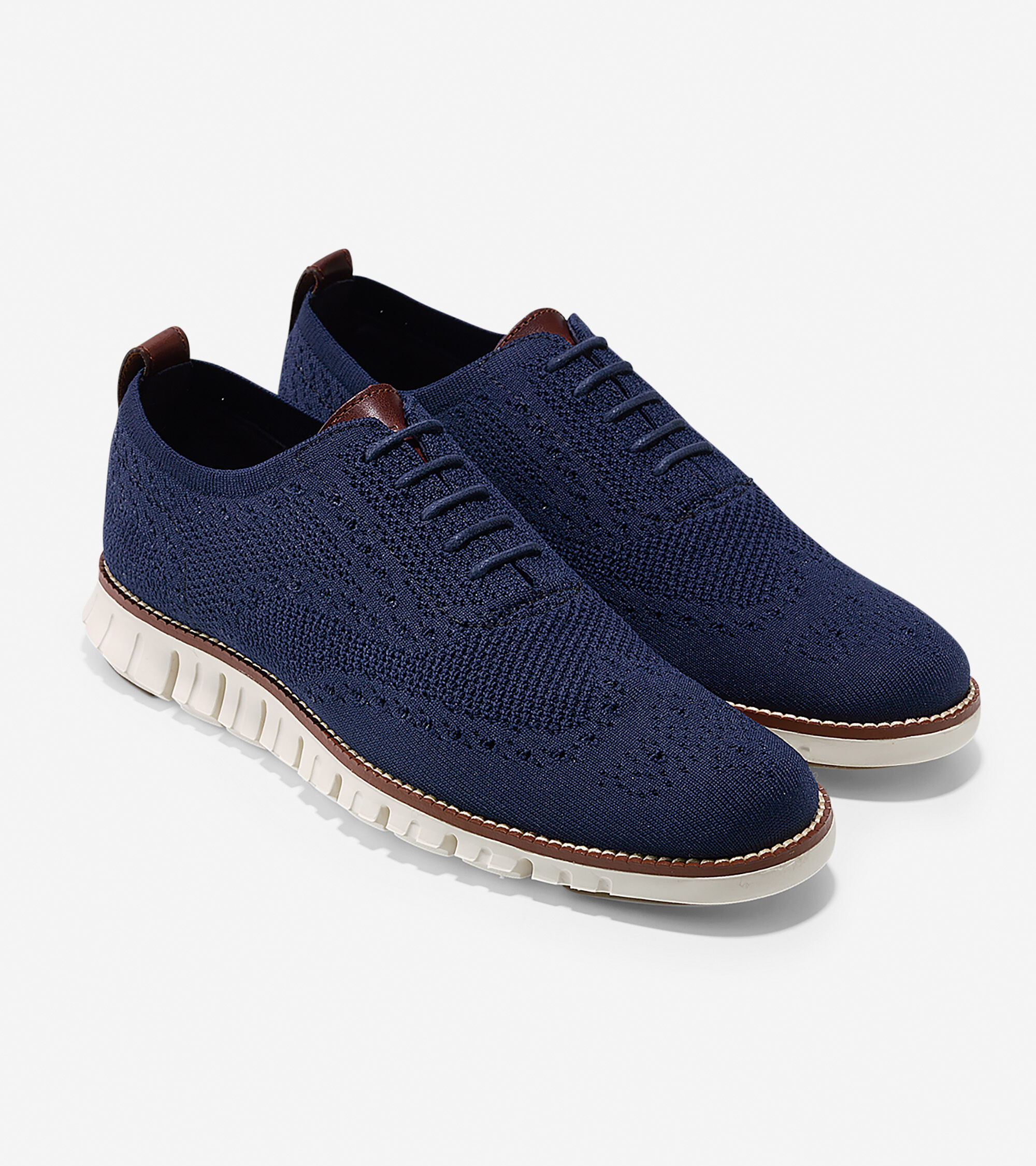 big sale babde 251fe ... Men s ZERØGRAND Wingtip Oxford with Stitchlite™ ...