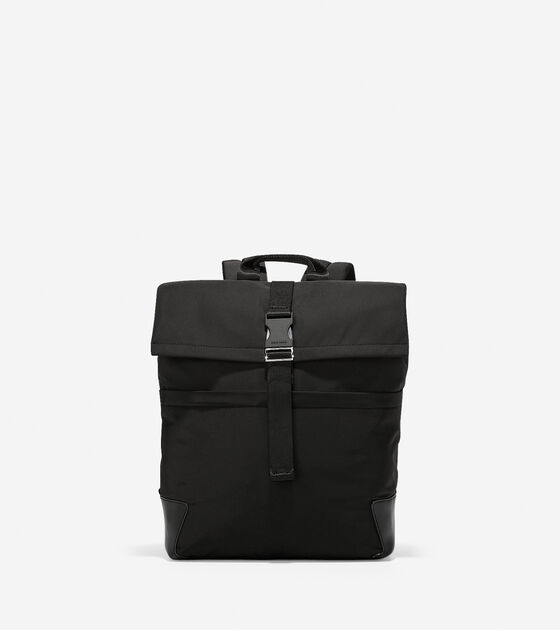 Bags > Sawyer Nylon Flap Backpack