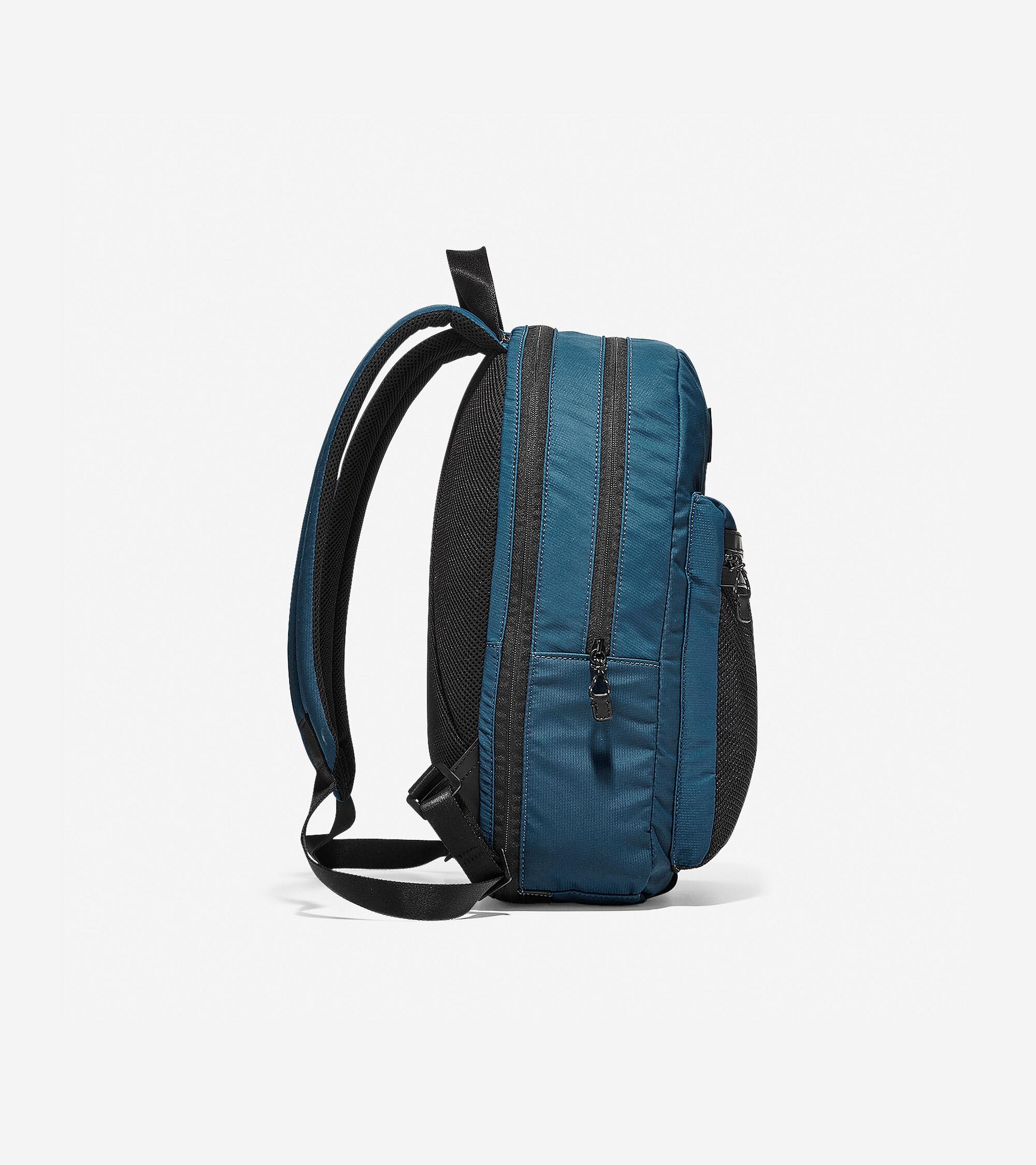 Men s Kai Nylon Backpack in Blue Nylon  f0b92317f3649