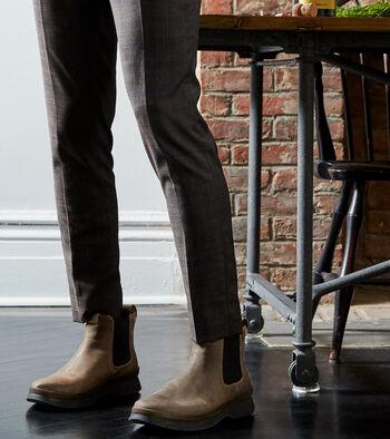 Men's Pinch Utility Waterproof Chelsea Boot
