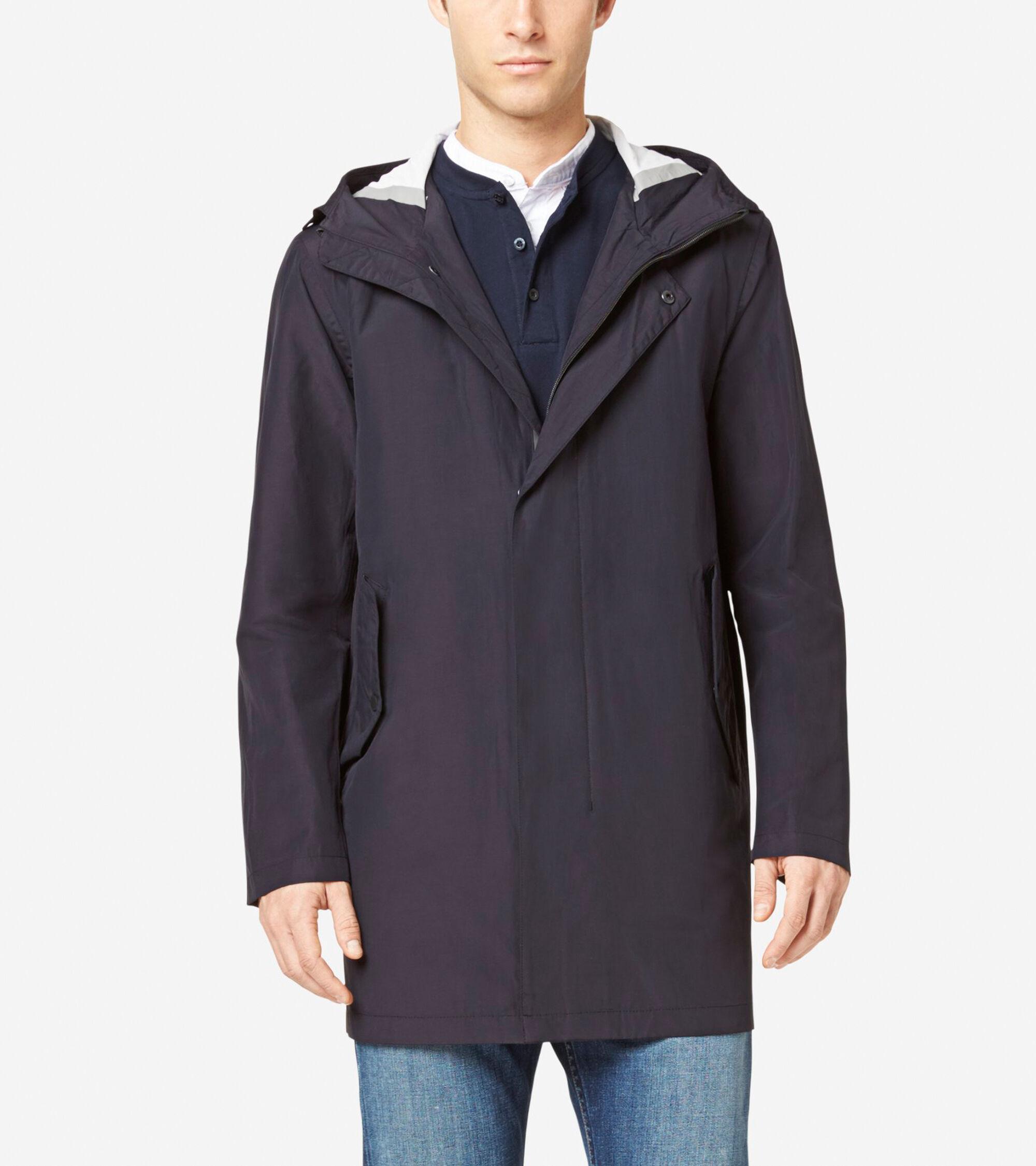 Cole Haan Men's Seamsealed Hooded Topper Jacket