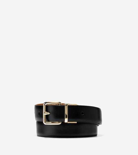Accessories & Outerwear > Reversible Feather Edge Belt
