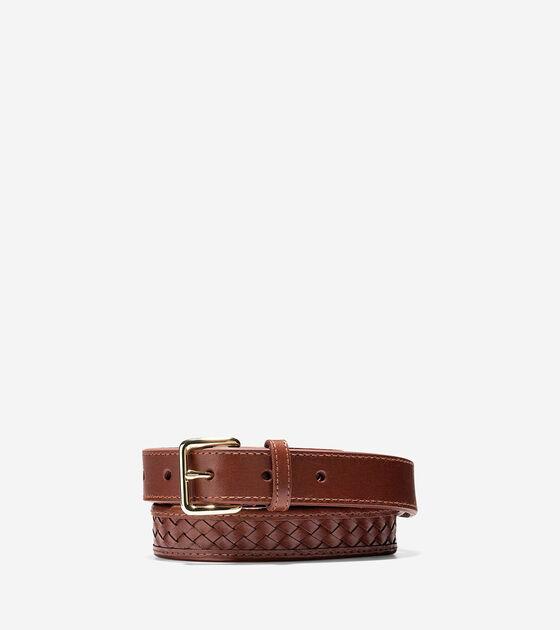 Bags & Outerwear > Jagger Weave Belt