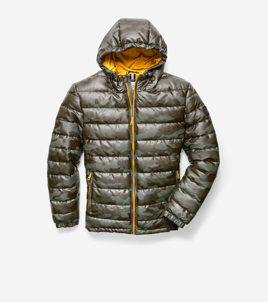 MENS Hooded Puffer Coat