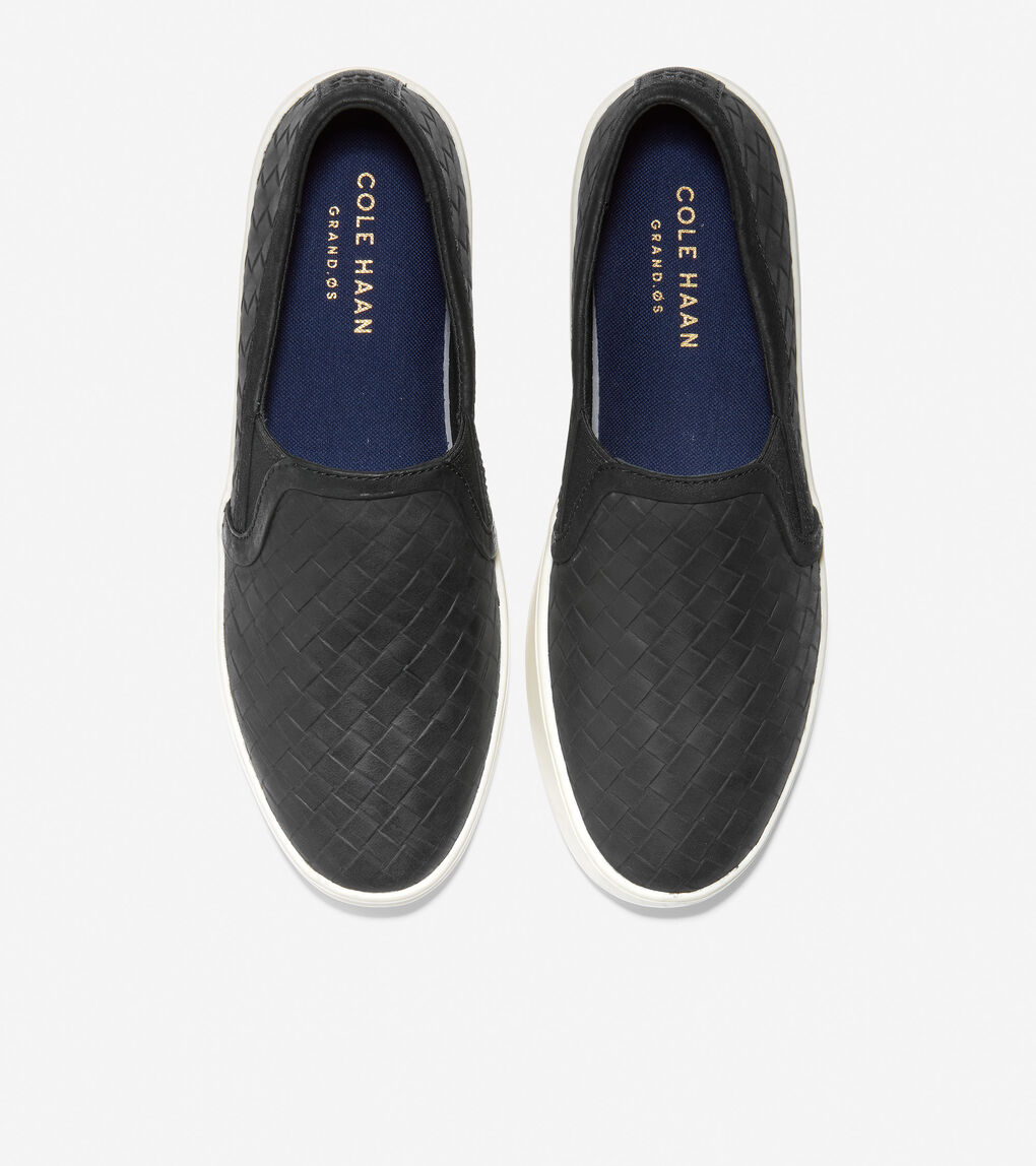 Womens Grand Crosscourt Slip-On Sneaker