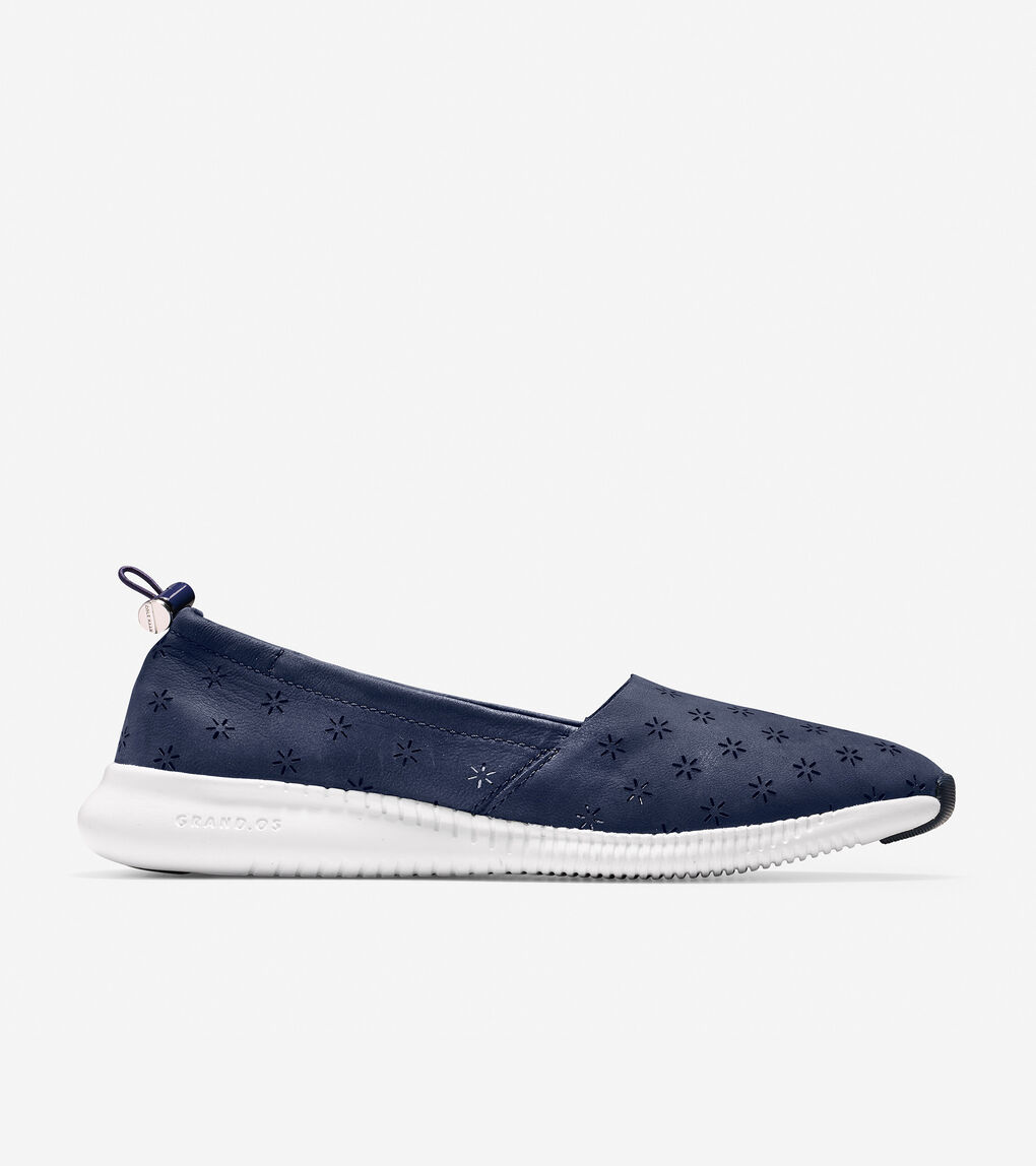 Womens StudiøGrand Perforated Slip-On Sneaker