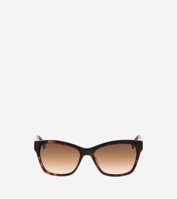 Squared Cat Eye Sunglasses
