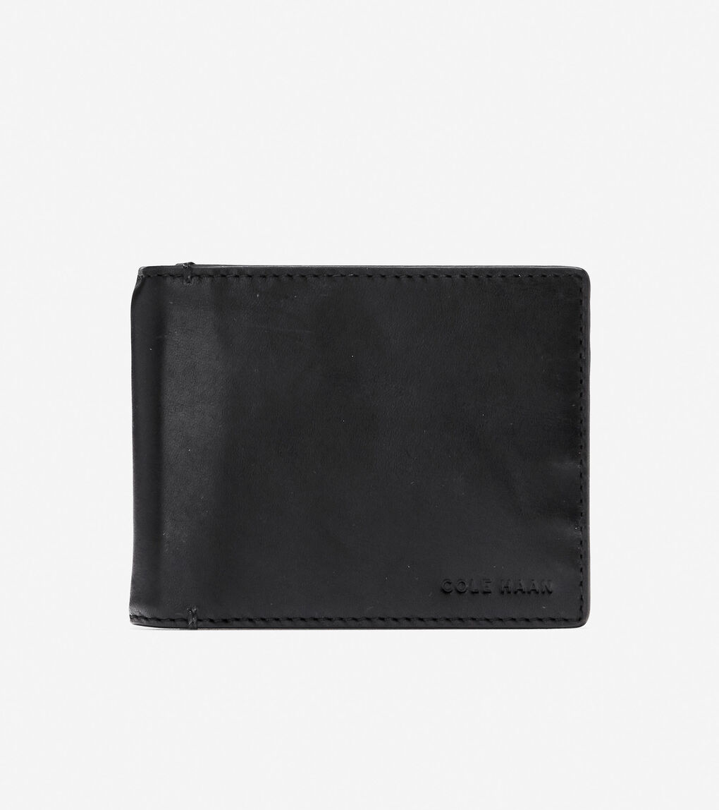 Mens Warner Slim Bifold with Hinge