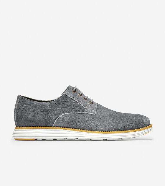 464128568b Men's OriginalGrand Plain Toe Oxfords with Stitchlite™ in Grey ...