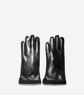 3.ZERØGRAND Leather Neoprene Gloves