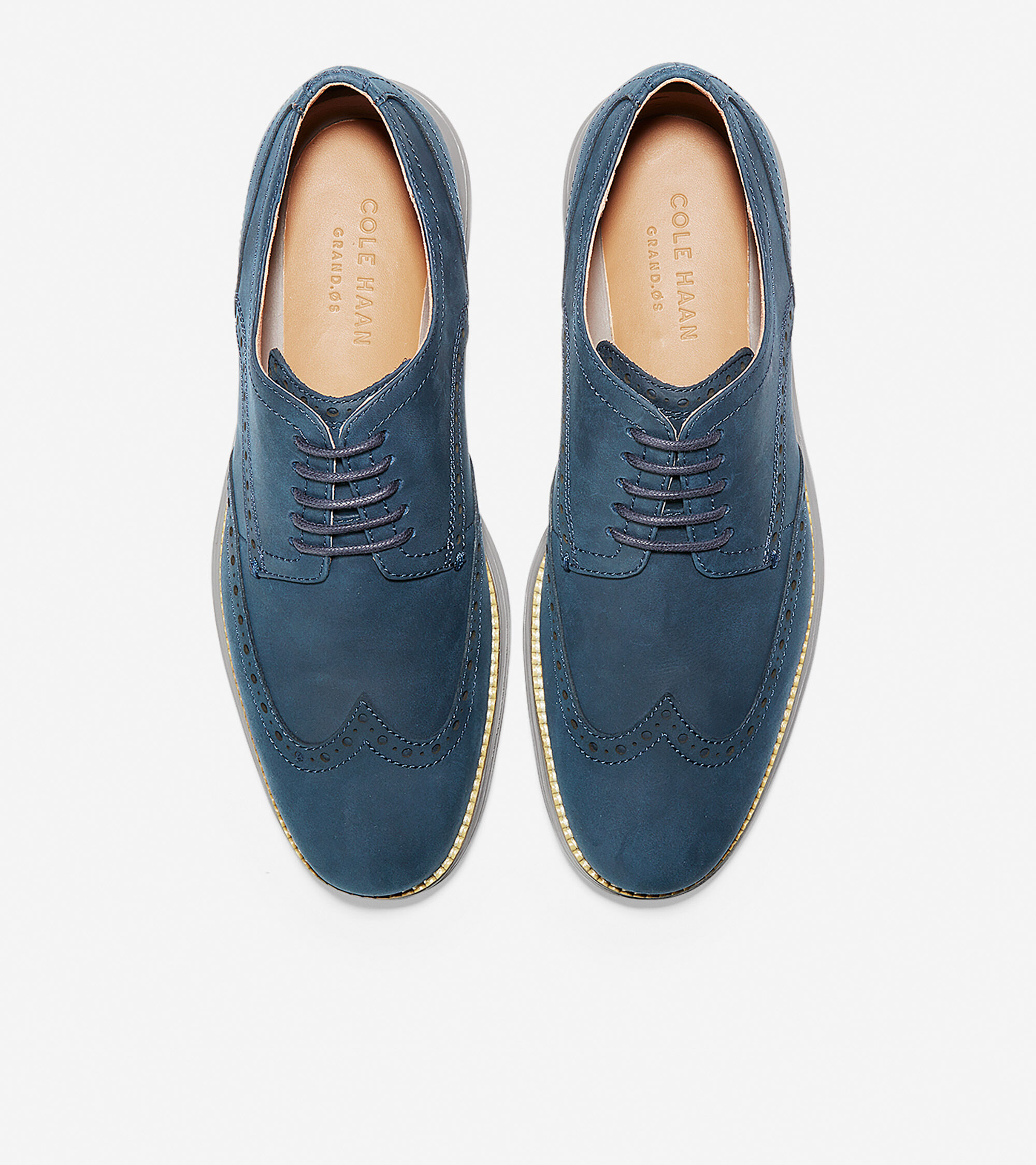 f37ce4fec09c8 Men s OriginalGrand Wingtip Oxfords in Blazer Blue