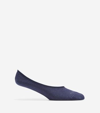 Anchor Stripes Sock Liner - 2 Pair