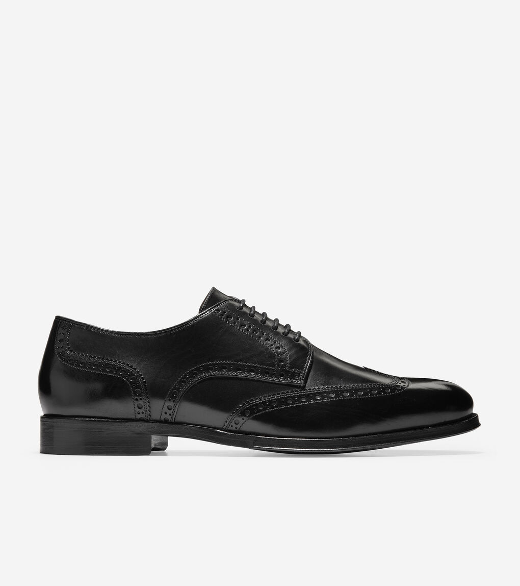 Mens Cole Haan American Classic Gramercy Derby Wingtip Oxford