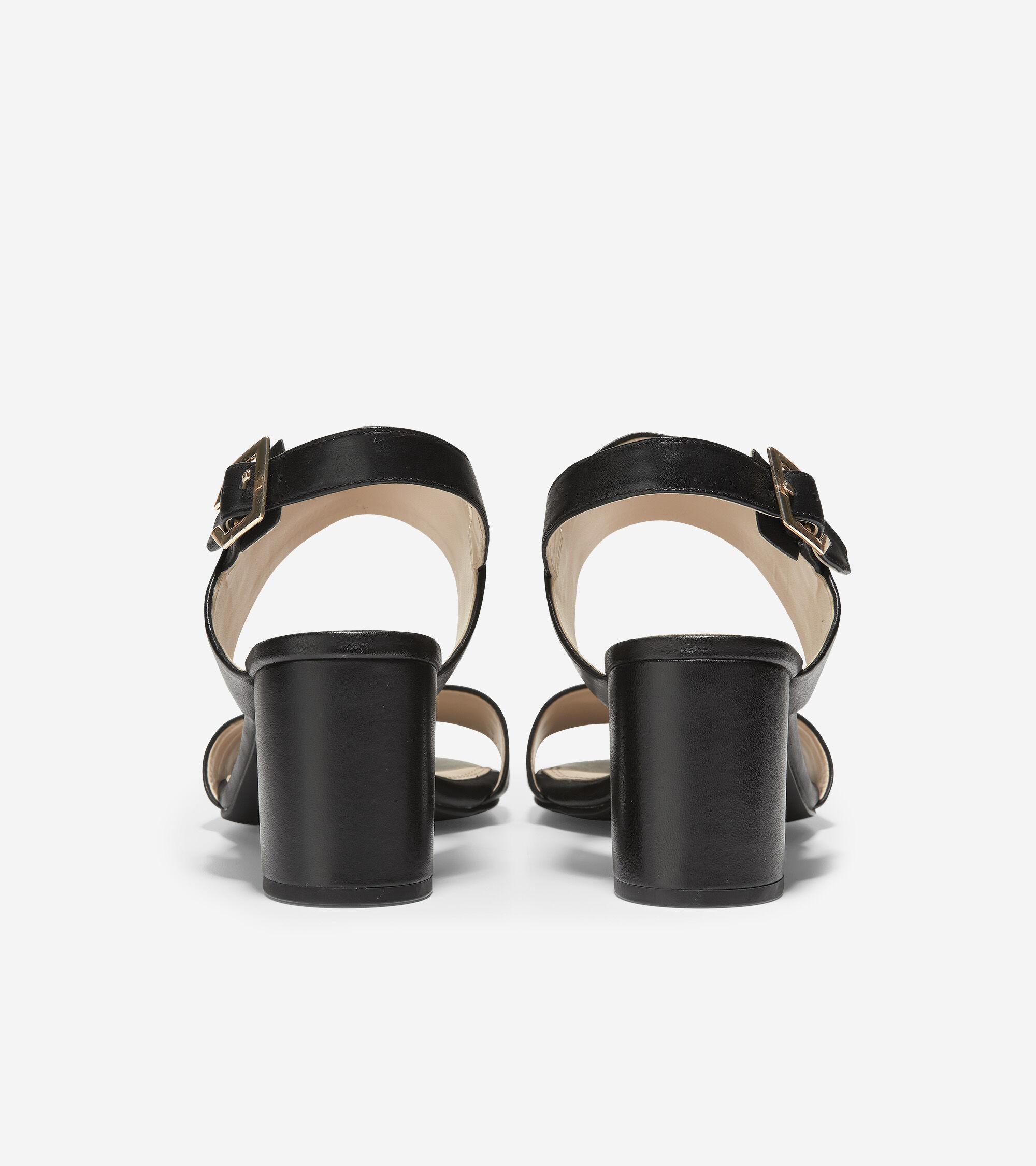 7606d0631d Women's Avani City Sandals (65mm) in Black | Cole Haan