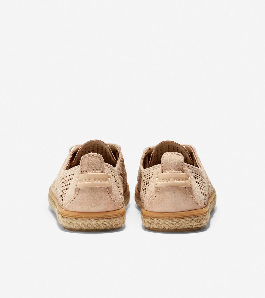 WOMENS Cloudfeel Lace Up Espadrille