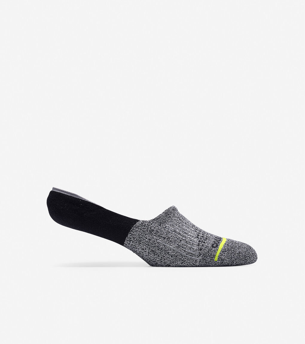 Mens ZERØGRAND Melange Blocked Sock Liner