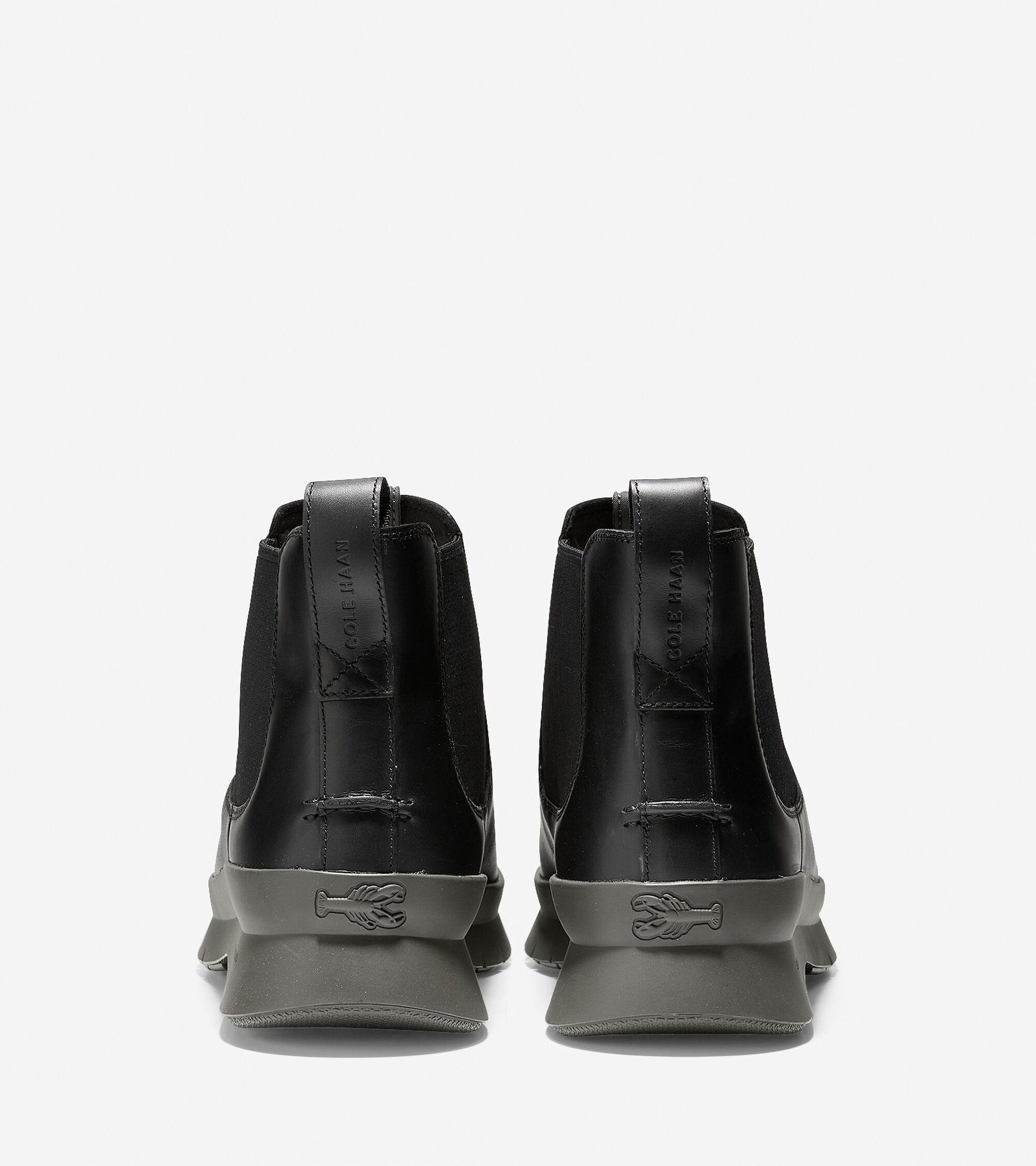 247223053aa Men s Pinch Utility Waterproof Chelsea Boots in Black