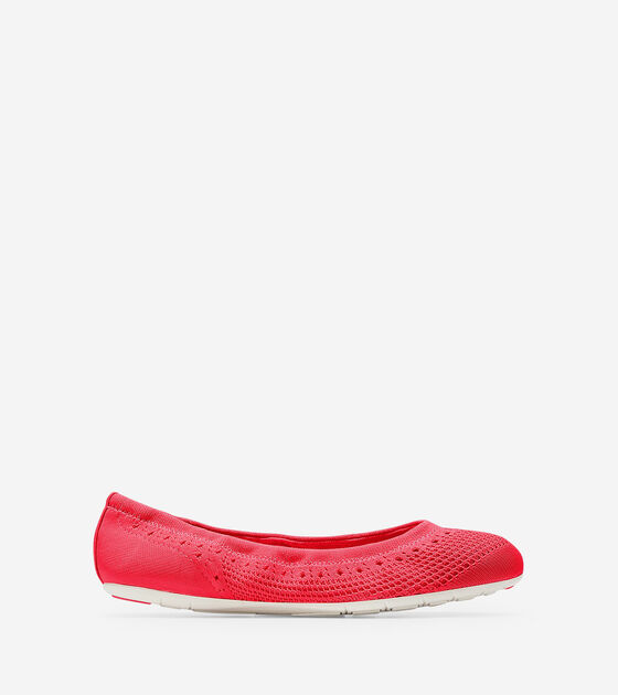 Shoes > Women's ZERØGRAND Ballet Flat with Stitchlite™