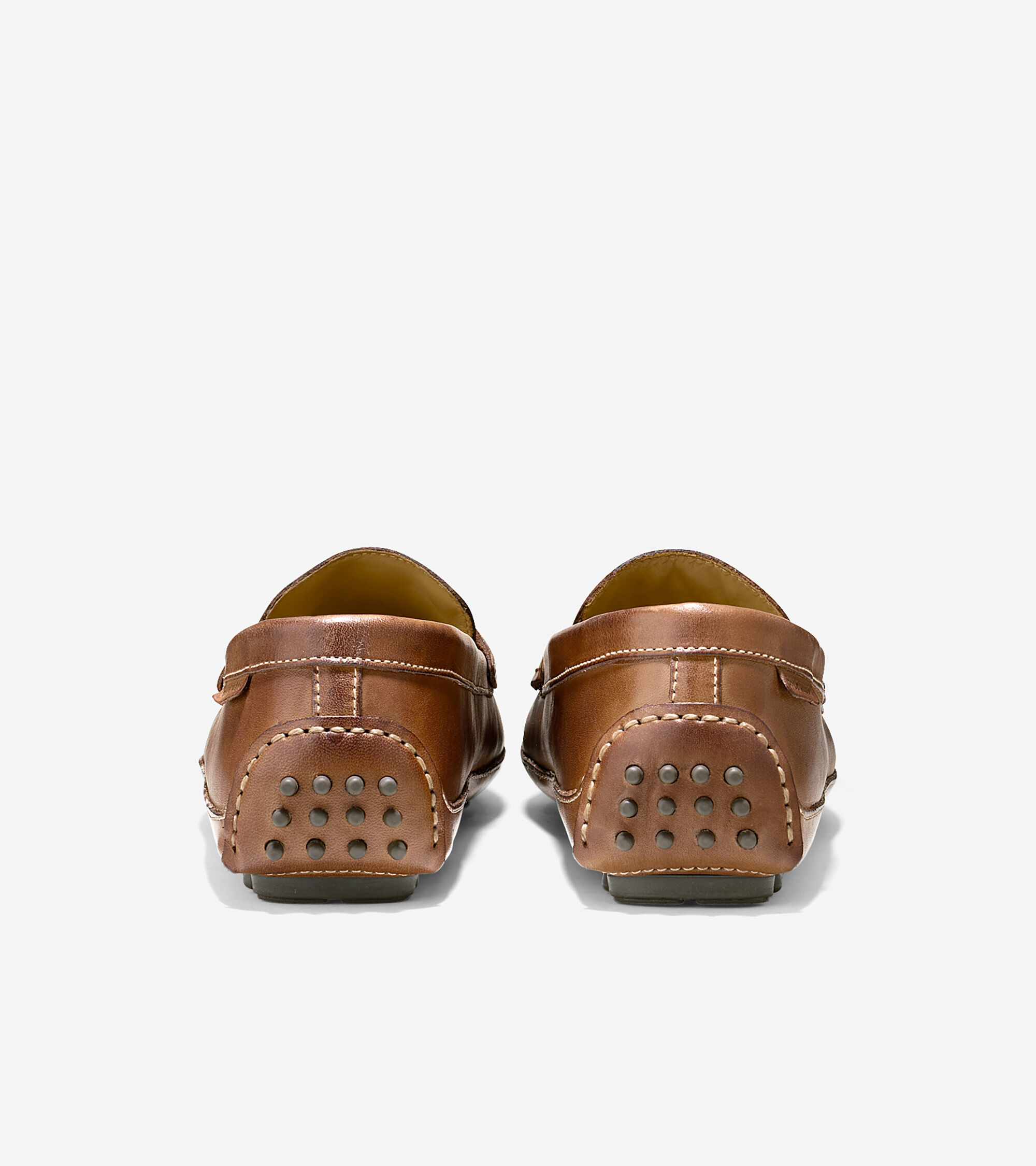 0260883830d Grant Canoe Penny Loafers in Papaya   Mens Shoes