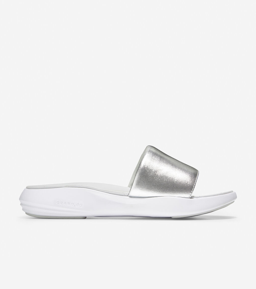 Womens Ella Grand Banded Slide Sandal