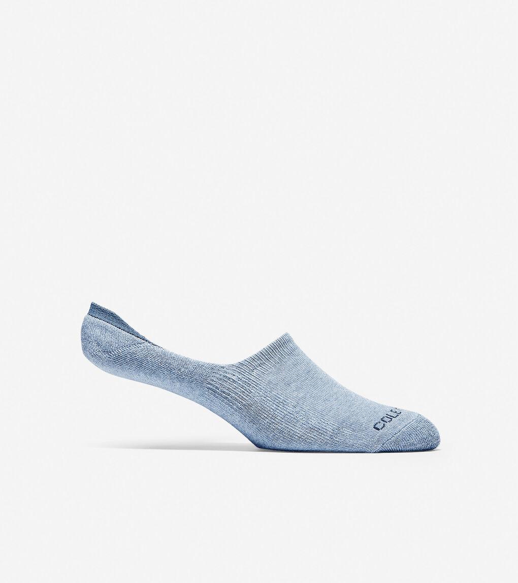 Mens Cotton Twist No-show Sock Liners - 2 Pack