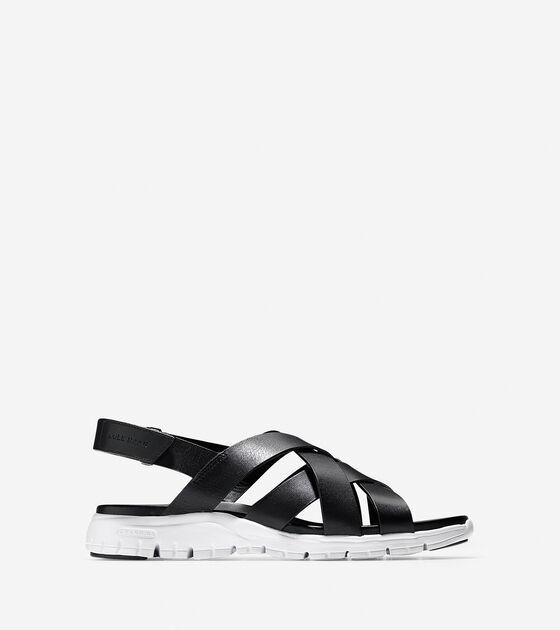 Shoes > ZERØGRAND Criss Cross Sandal