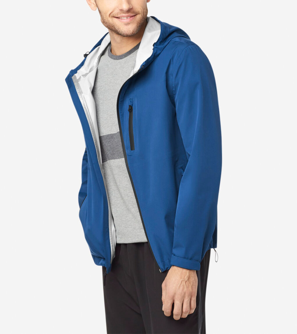 Mens Grand.ØS Packable Rain Jacket