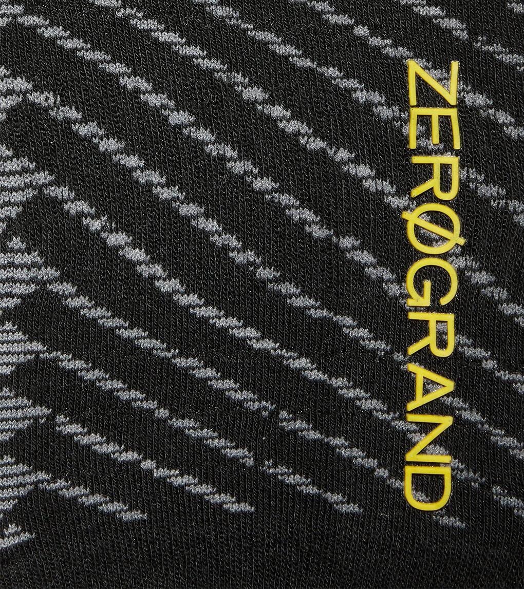 Womens ZERØGRAND Textured Low Cut Sock