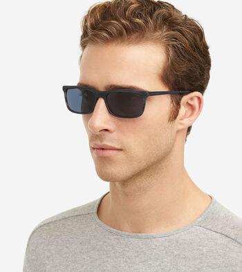 Acetate Metal Rectangle Sunglasses