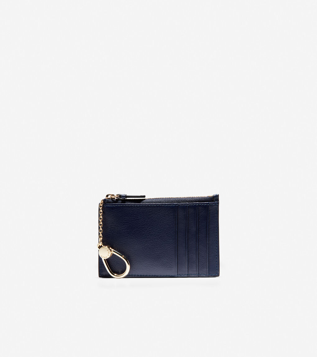 Womens GRANDSERIES Zip Card Case