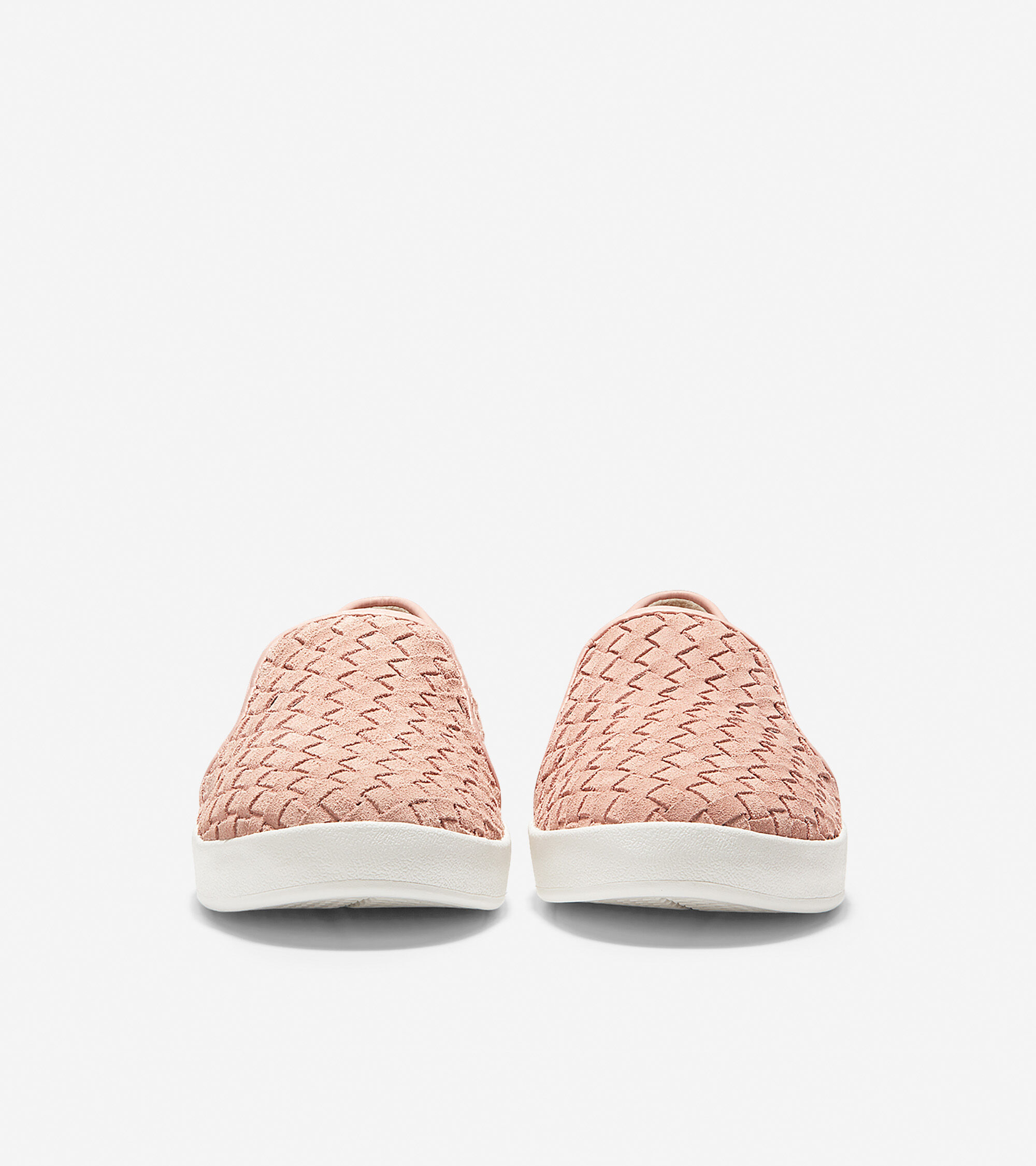 Misty Rose Woven Suede | Cole Haan