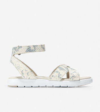 Women's ZERØGRAND Cross Strap Sandal