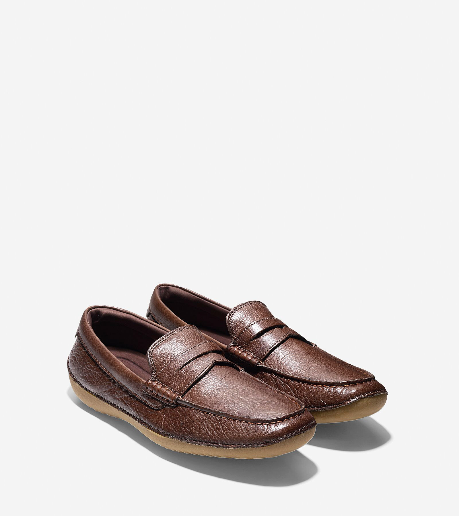 Penny Driving Shoe in Chestnut Leather