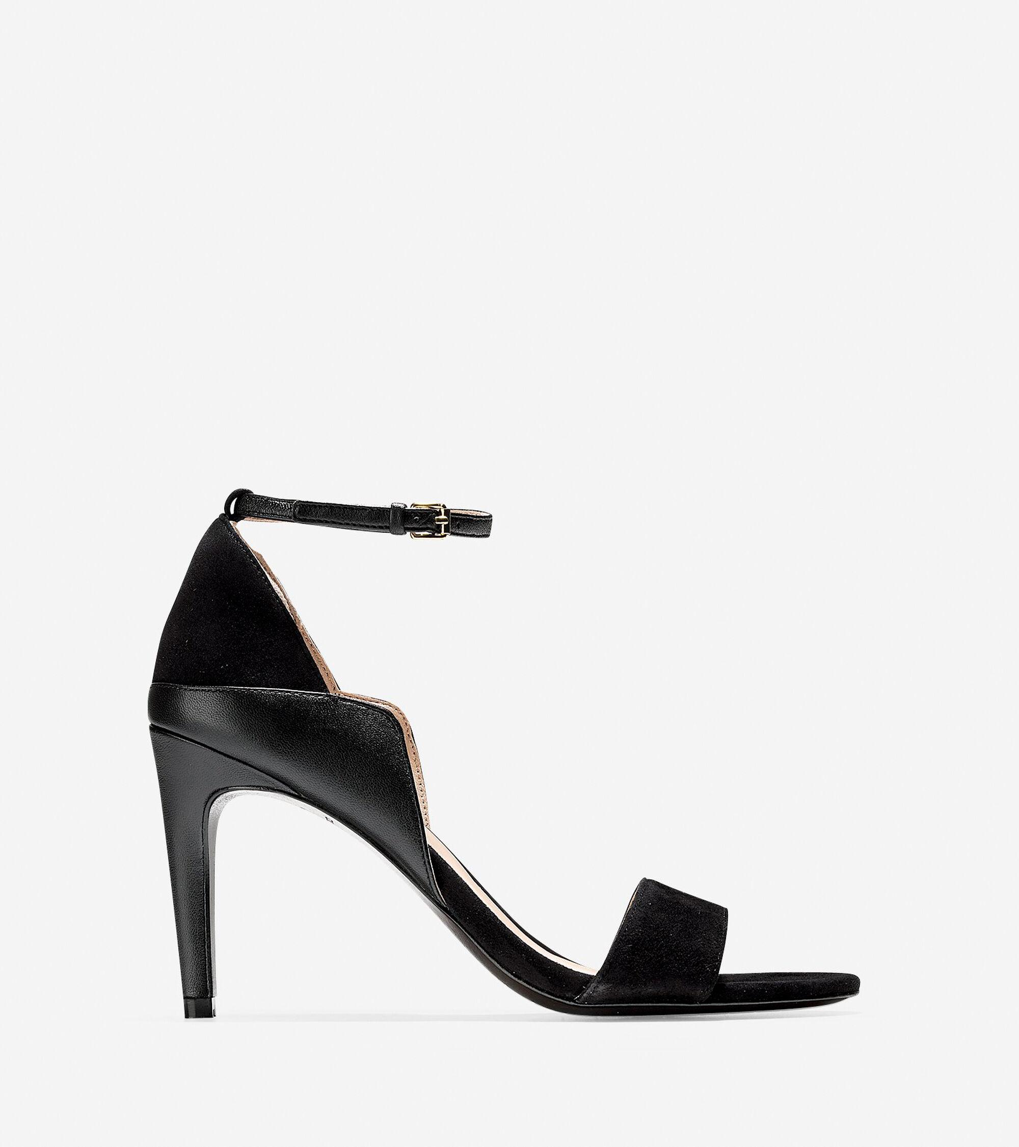 e0f98f7a019ce3 Women s Grace Grand Sandals 85mm in Black-Black
