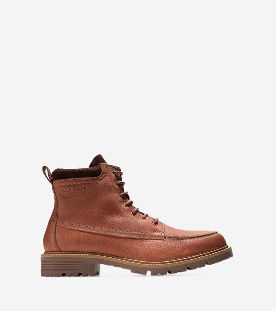 Shoes > Men's Keaton Waterproof Moc Toe Lace Boot