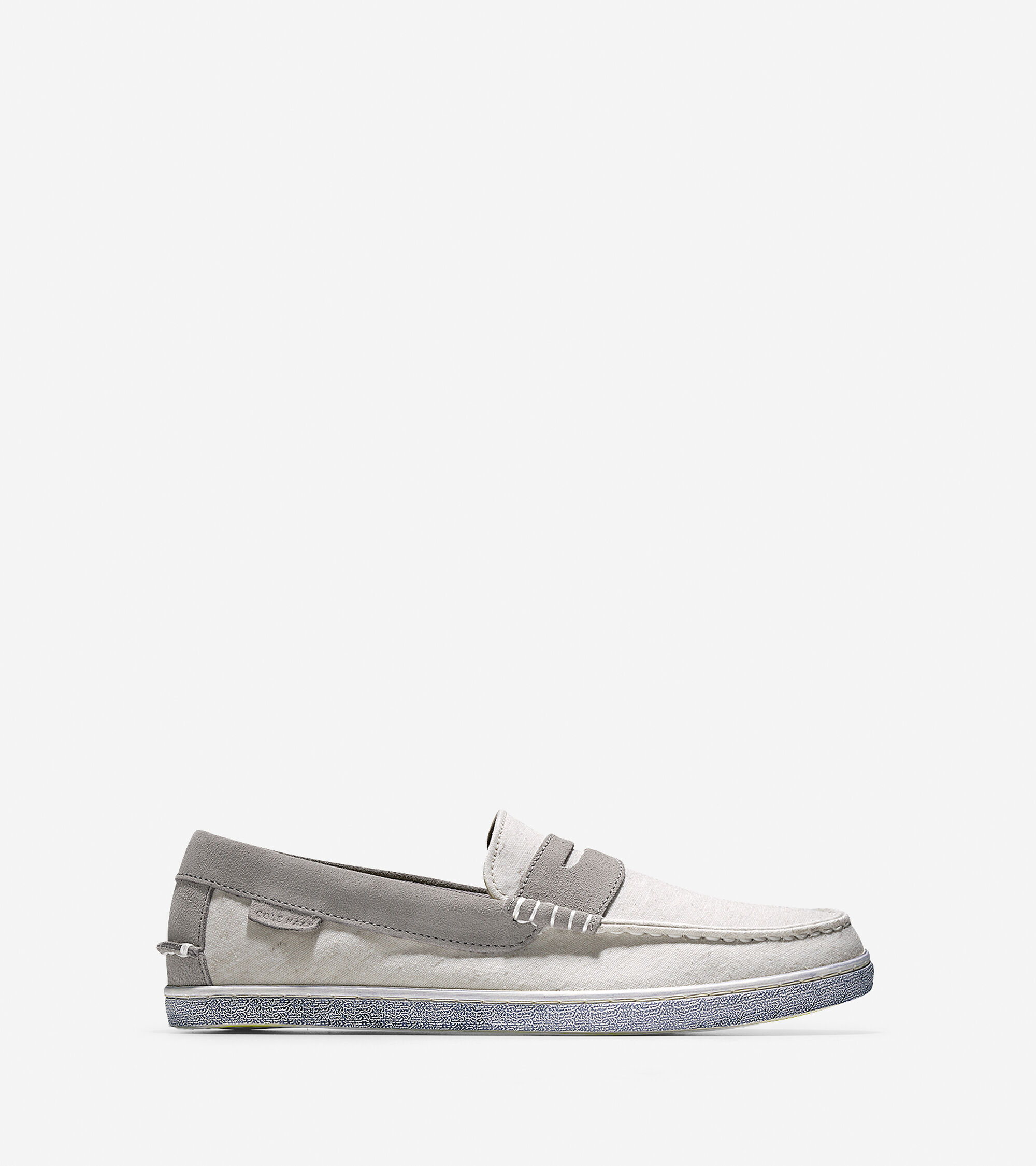 1054024b36a Mens Pinch Canvas Weekenders in White Fabric-Grey Suede