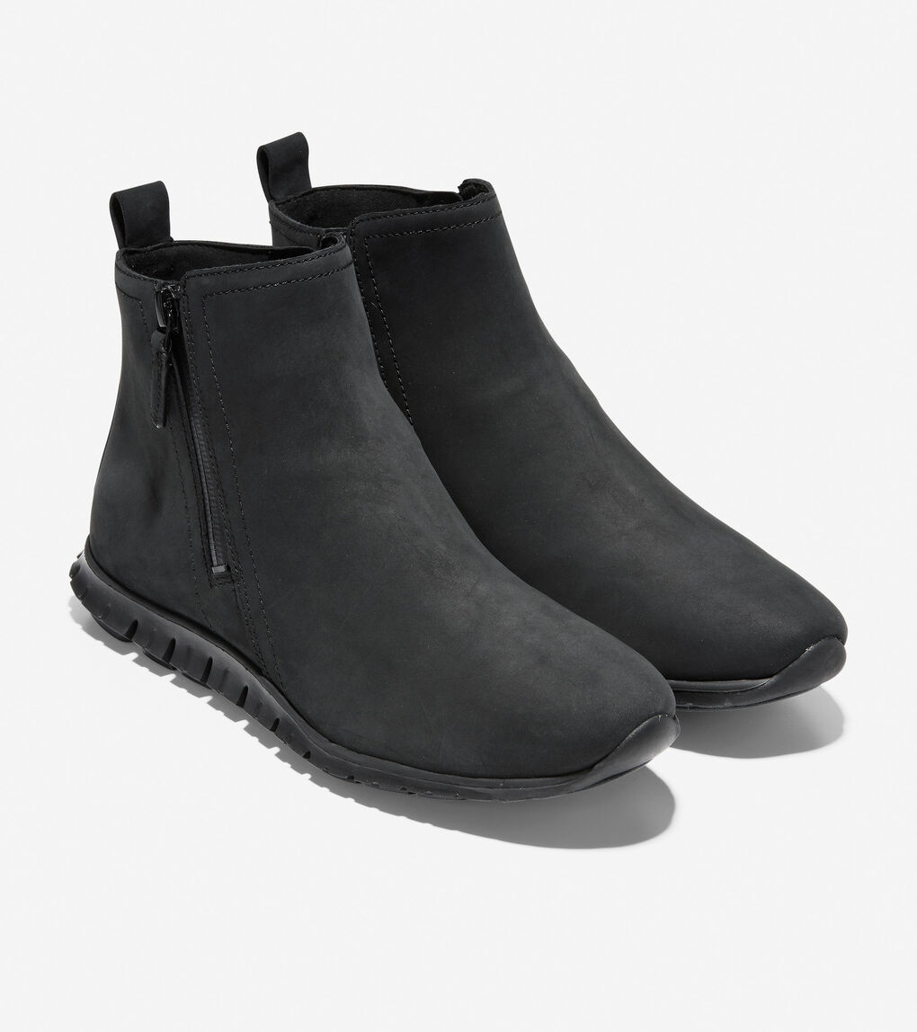 Womens ZERØGRAND Zip Bootie