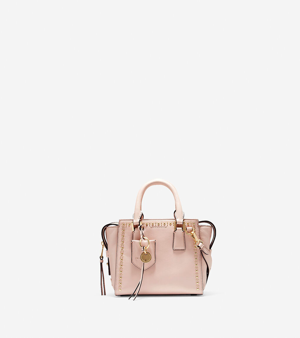 efdec357b23 Women's Marli Mini Satchel in Pink Nude Stud | Cole Haan US