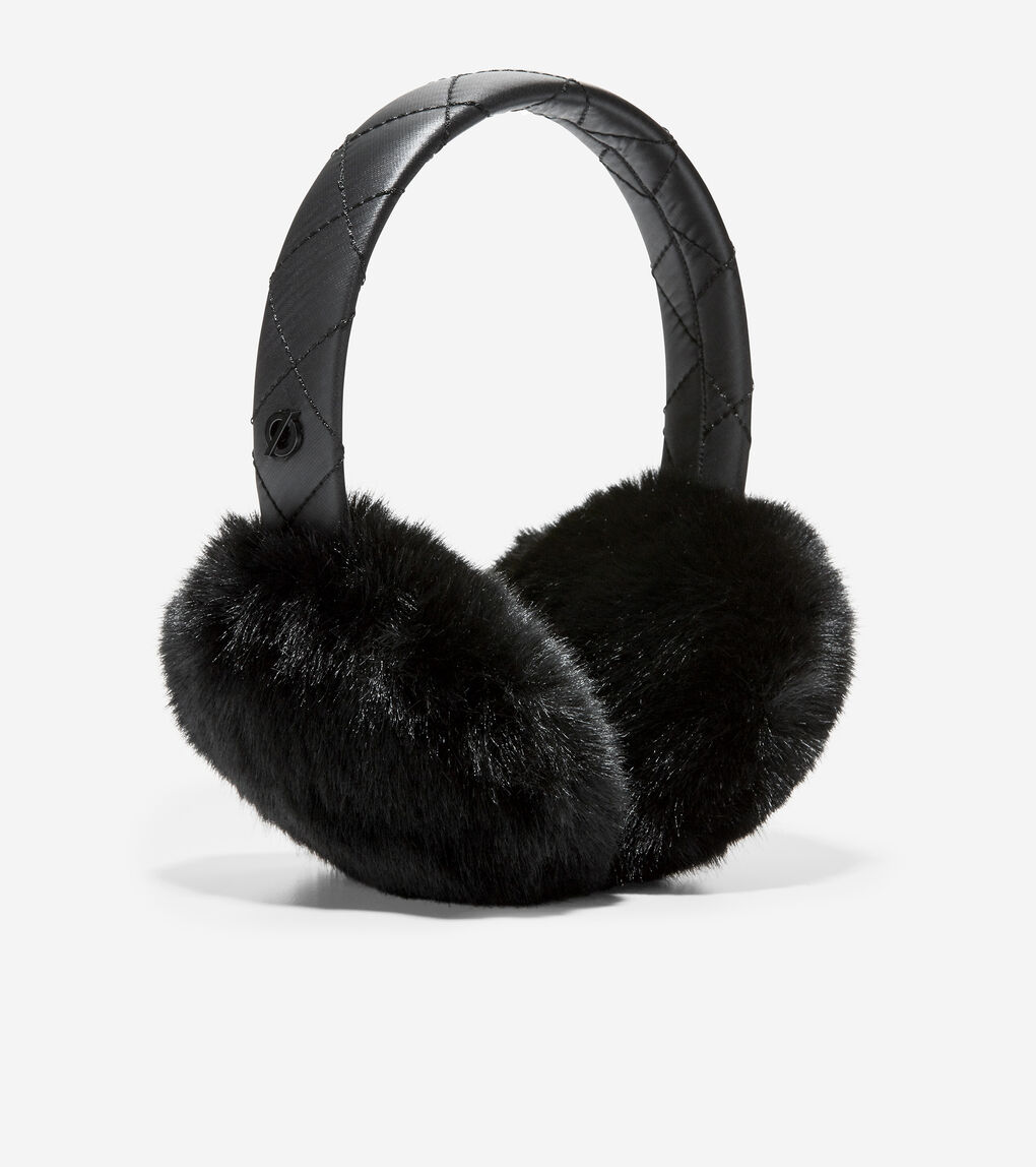 WOMENS ZERØGRAND All-Weather Quilted Bluetooth Earmuff