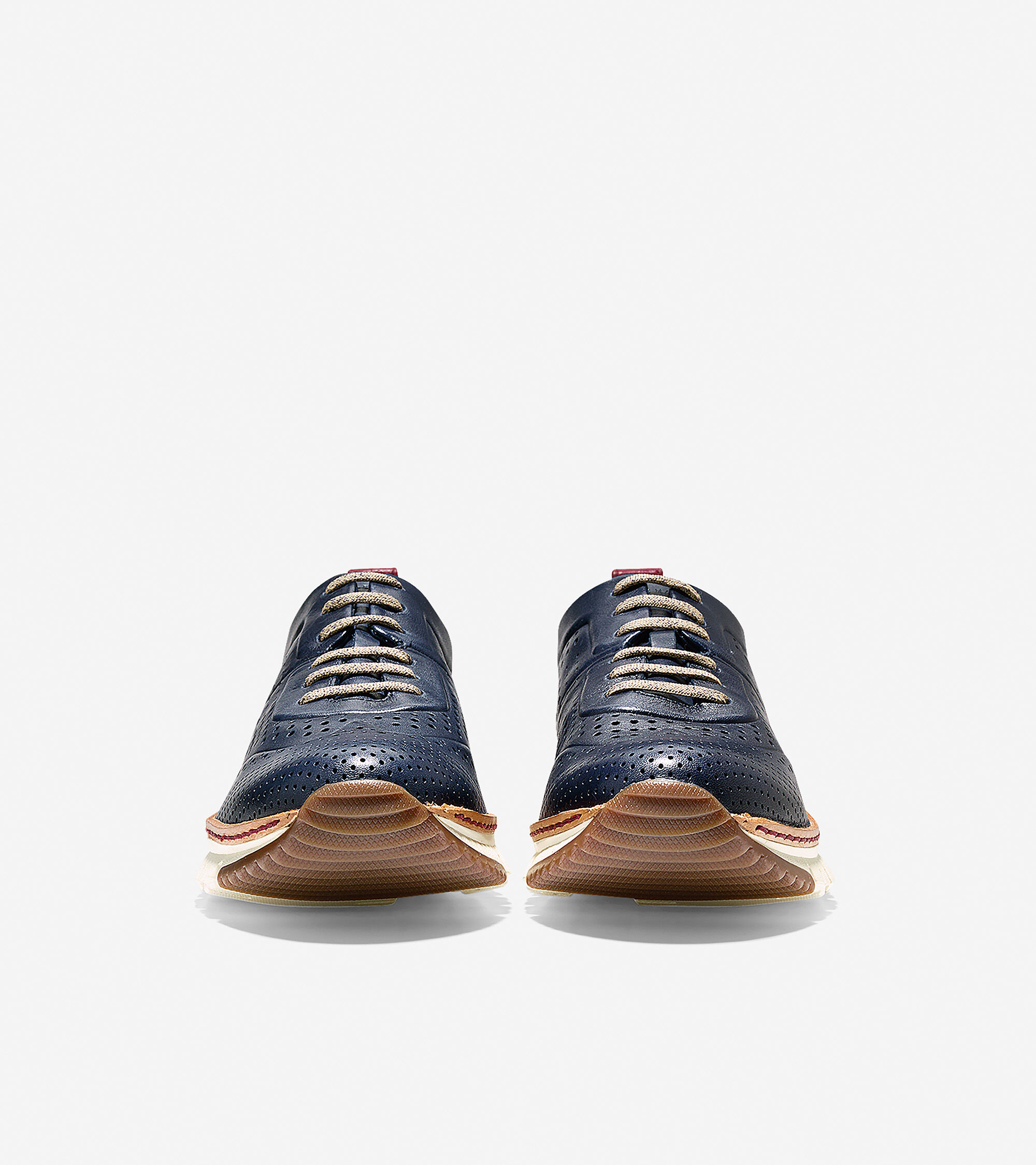 Perforated Sneaker in Marine Blue