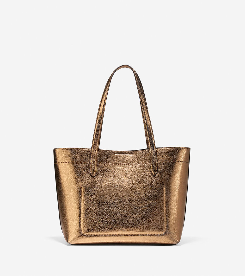 3a1a0babc62 Women's Payson Small Tote in Bronze | Cole Haan US
