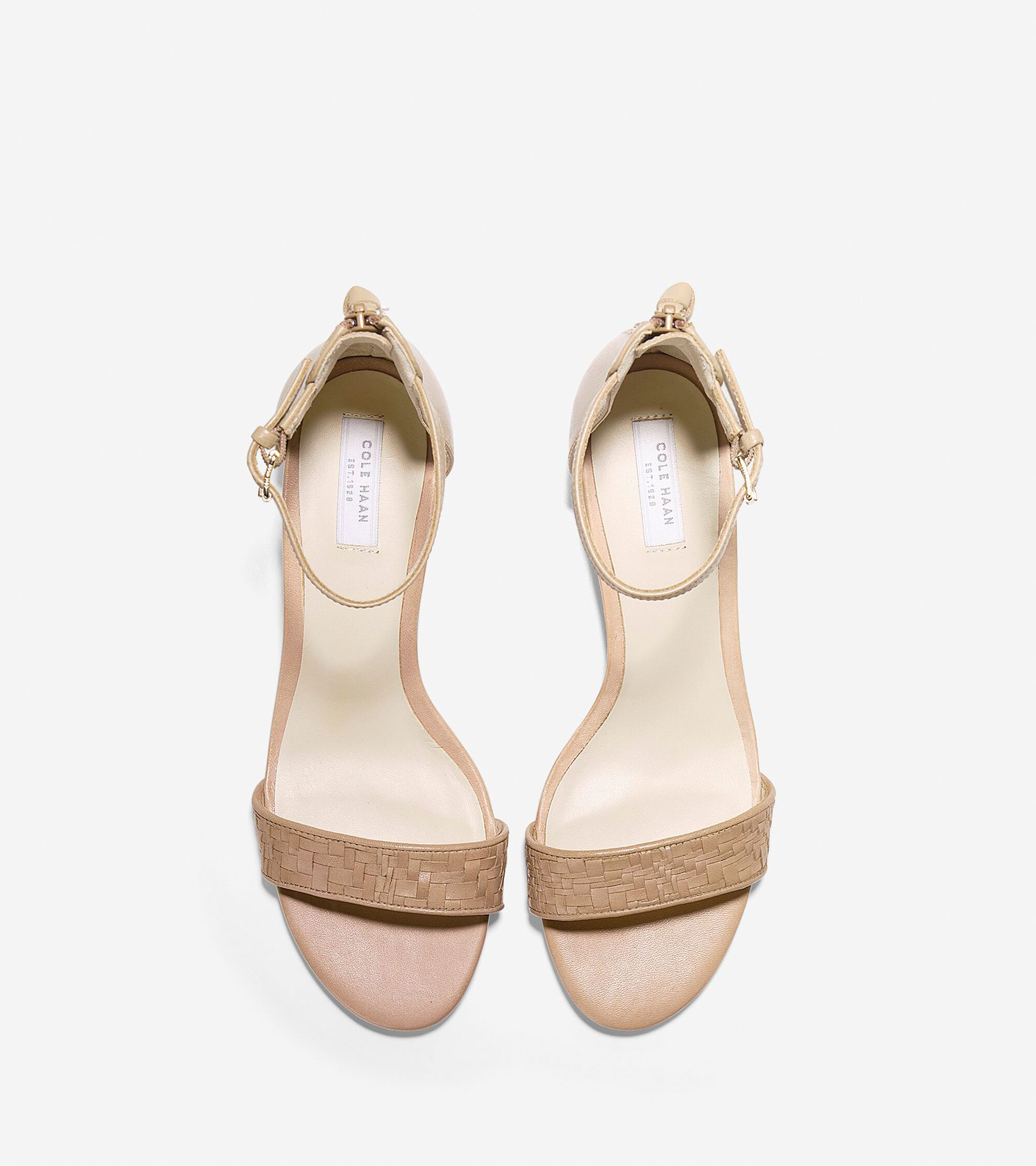 836a21f13c6 Genevieve Weave Wedges 40mm in Sandstone