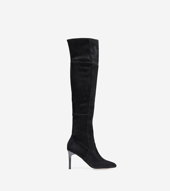 4dd39f6251d Marina Over-the-Knee Boots 85mm in Black