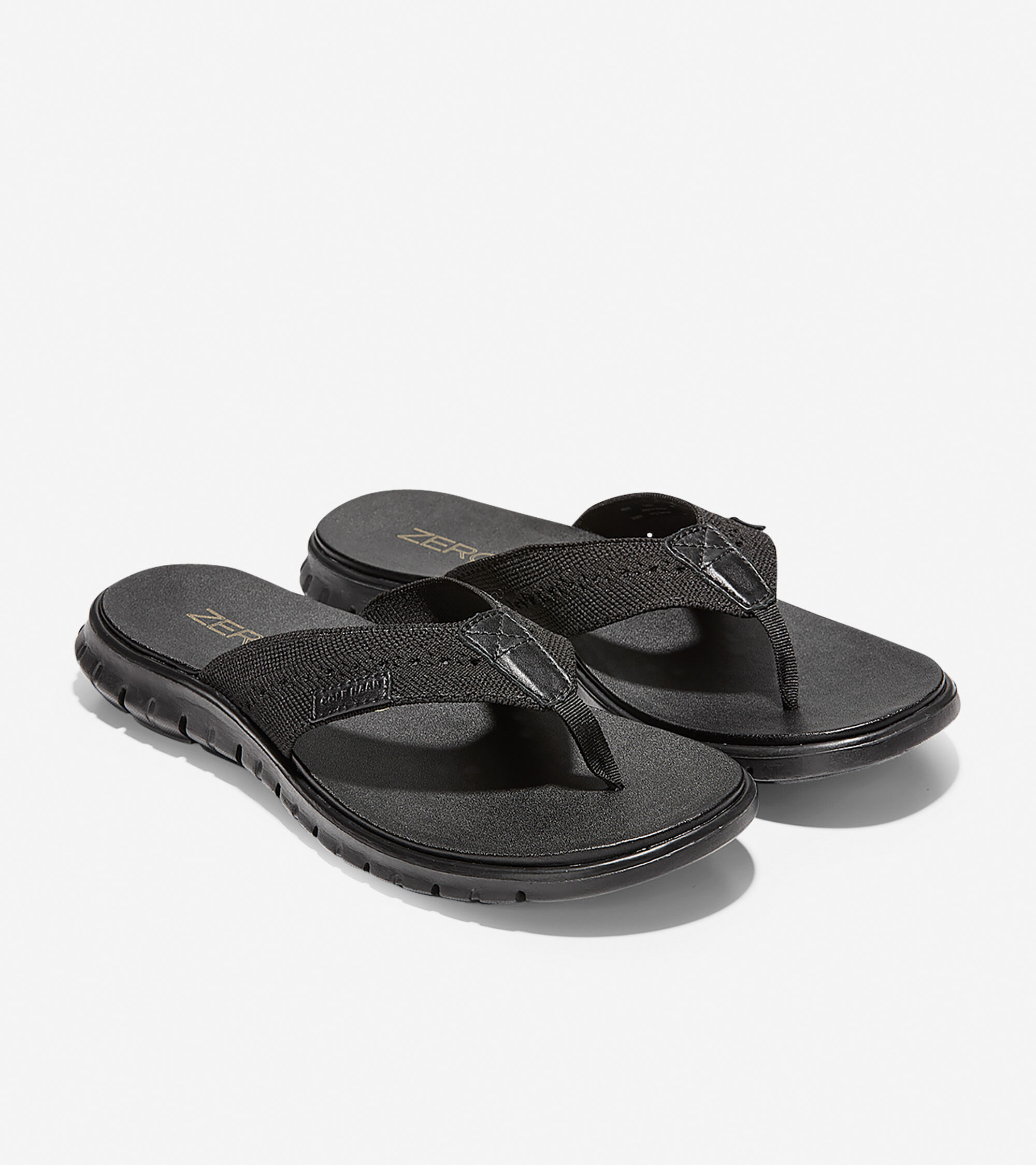 13a4a882e592 Men s ZEROGRAND Thong Sandals with Stitchlite™ in Black